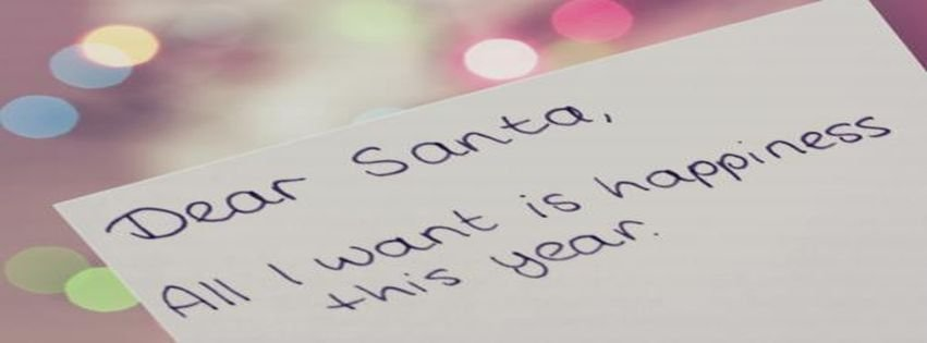Christmas happiness quotes santa this facebook covers - Stellar Life ...